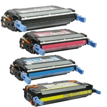 HP 642A cp4005 Refurbished Toner Value Pack (B/C/M/Y)